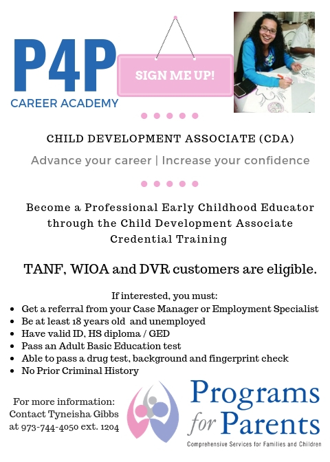 we're now accepting cda students! – programs for parents
